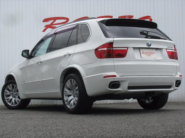 BMW BMW X5 4.8i Mスポーツパッケージ 7人乗 サンルーフ 黒レザー