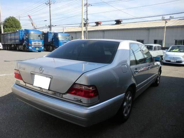 S500 黒革 サンルーフ(6枚目)