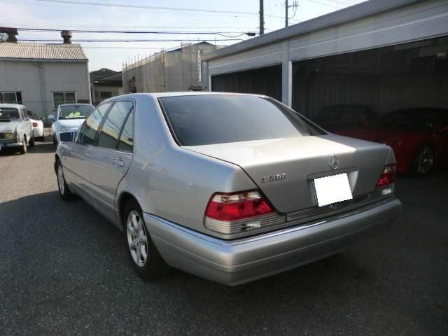 S500 黒革 サンルーフ(8枚目)