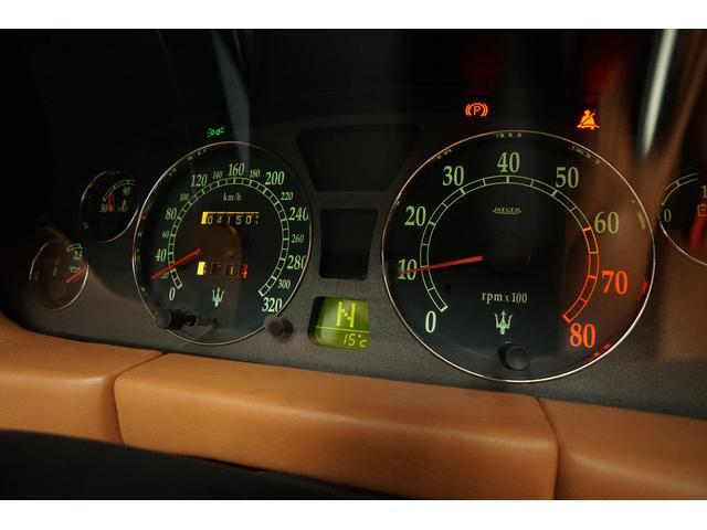 マセラティ マセラティ 3200GT 3.2V8TwinTurbo ブラウンレザー 後期型
