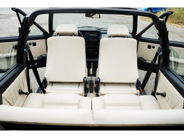 フォルクスワーゲン VW ゴルフカブリオレ クラシックライン 革シート パワステ 1994年式 左H