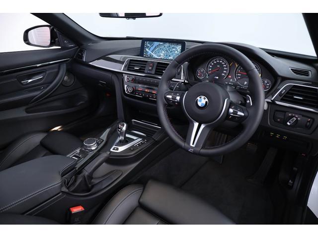 M4カブリオレ コンペティション D車 保証付き(3枚目)