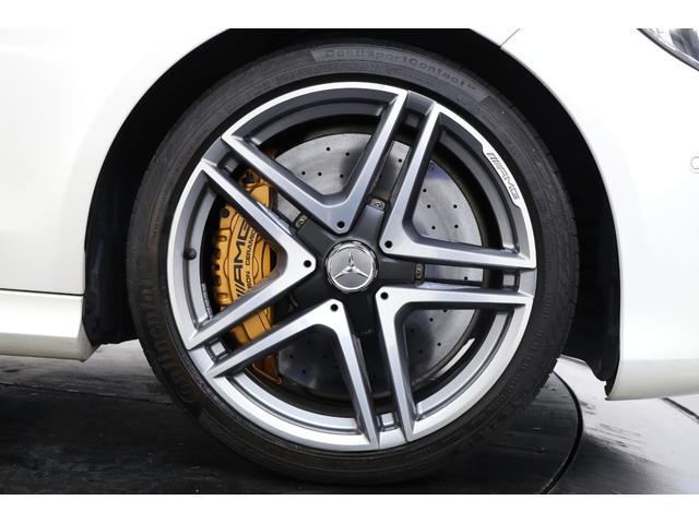 E63 S 4マチックAMGカーボンPKG カーボンブレーキ(4枚目)