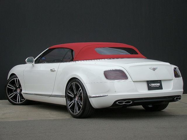 ベントレー ベントレー コンチネンタル GT V8コンバーチブル マリナーPKG赤革赤幌21AW鍛造