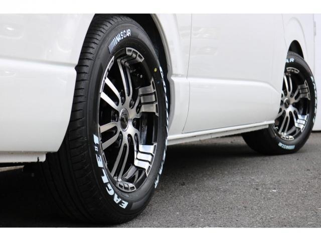 スーパーGL ダークプライムII 新車ナビパッケージFLEXバルベロ17インチアルミ&GOODYEARタイヤ2インチローダウンKIT前後薄型バンプストップラバーCOBRAスポイラーFLEX煌LEDテールカロッツェリアSDナビ(19枚目)