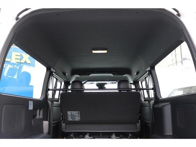スーパーGL ダークプライムIIワイド ロングボディ ナビパッケージ小窓有アルパインBIGXナビETC2.0FLEXバルベロ17インチアルミ&GOODYEARタイヤFLXE煌LEDテール2インチローダウンKIT(9枚目)