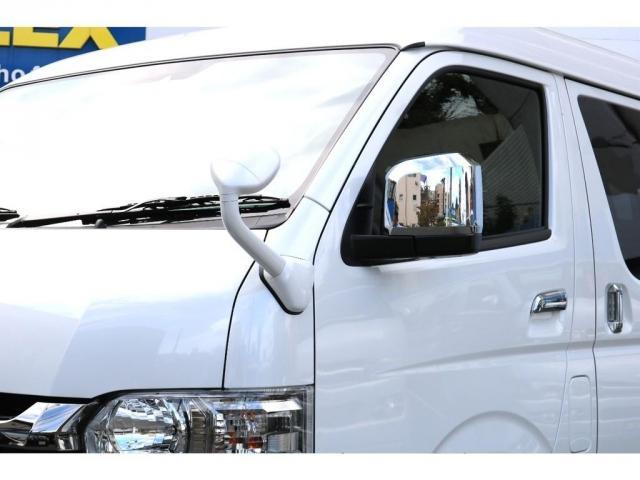 スーパーGL ダークプライムIIワイド ロングボディ ナビパッケージ小窓有アルパインBIGXナビETC2.0FLEXバルベロ17インチアルミ&GOODYEARタイヤFLXE煌LEDテール2インチローダウンKIT(17枚目)