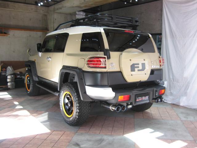 「トヨタ」「FJクルーザー」「SUV・クロカン」「東京都」の中古車78