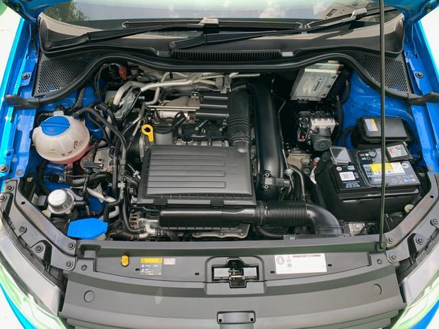 1.2L TSIエンジンを搭載アイドリングストップシステム(Start/Stop)やブレーキエネルギー回生システムにより、燃費も22.2kJC08モード)になります。