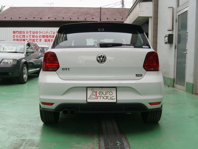 フォルクスワーゲン VW ポロ GTI 6MT 純正ナビ