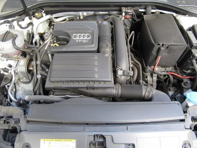 1.4TFSIエンジンはパワーも十分、燃費性能もよいアウディコンパクトカーの主力のエンジンです