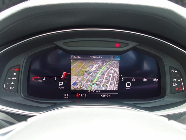 40TDIクワトロスポーツ 認定中古車 元デモカー 禁煙車 HDマトリクスLEDヘッドライト リアシートヒーター アシスタンスパッケージ アダプティブクルコン サイドアシスト レーンアシスト 地デジ Bluetooth(20枚目)