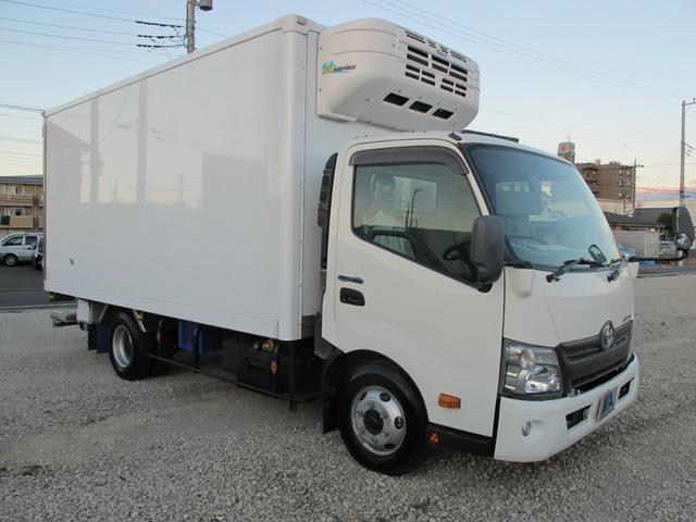 ロングWキャブ全低床 冷蔵冷凍車-5℃ 極東パワーゲート(6枚目)