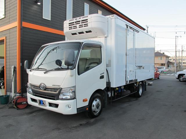 ロングWキャブ全低床 冷蔵冷凍車-5℃ 極東パワーゲート(7枚目)