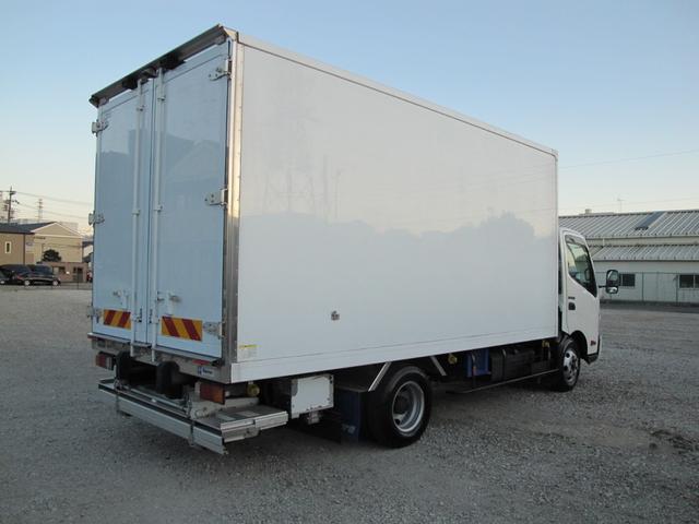 ロングWキャブ全低床 冷蔵冷凍車-5℃ 極東パワーゲート(8枚目)