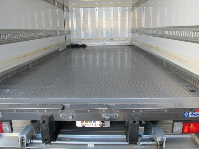 ロングWキャブ全低床 冷蔵冷凍車-5℃ 極東パワーゲート(10枚目)