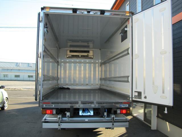 ロングWキャブ全低床 冷蔵冷凍車-5℃ 極東パワーゲート(14枚目)