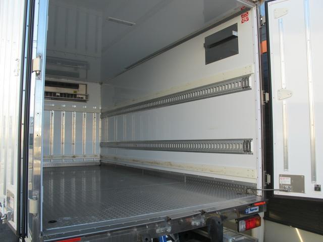 ロングWキャブ全低床 冷蔵冷凍車-5℃ 極東パワーゲート(16枚目)