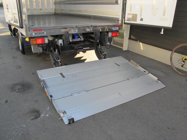 ロングWキャブ全低床 冷蔵冷凍車-5℃ 極東パワーゲート(18枚目)