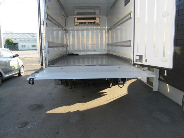 ロングWキャブ全低床 冷蔵冷凍車-5℃ 極東パワーゲート(21枚目)