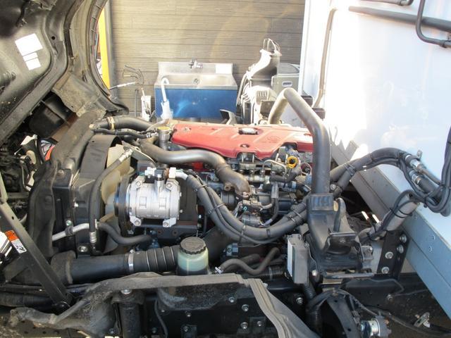 ロングWキャブ全低床 冷蔵冷凍車-5℃ 極東パワーゲート(27枚目)
