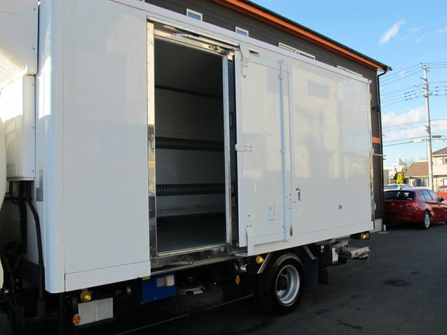 ロングWキャブ全低床 冷蔵冷凍車-5℃ 極東パワーゲート(31枚目)