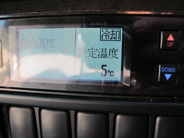ロングWキャブ全低床 冷蔵冷凍車-5℃ 極東パワーゲート(49枚目)