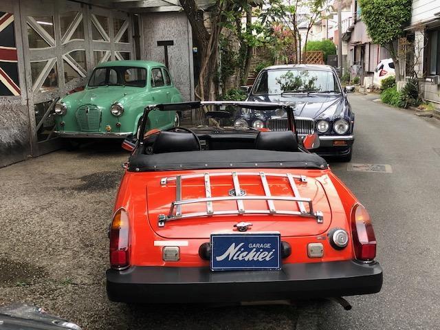「MG」「ミゼット」「オープンカー」「東京都」の中古車11