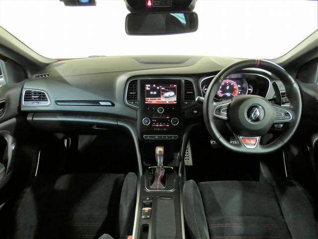 ルノー スポール 正規ディーラー車 国産新品タイヤ4本装着 メーカー保証継承 LEDヘッドライト AppleCarPlay AndroidAuto バックカメラ 障害物センサー 純正19インチAW スマートキー ETC(5枚目)