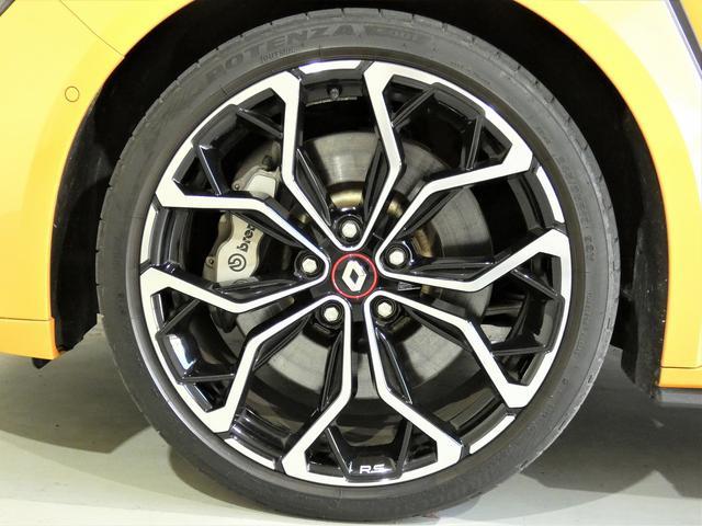 ルノー スポール 正規ディーラー車 国産新品タイヤ4本装着 メーカー保証継承 LEDヘッドライト AppleCarPlay AndroidAuto バックカメラ 障害物センサー 純正19インチAW スマートキー ETC(11枚目)