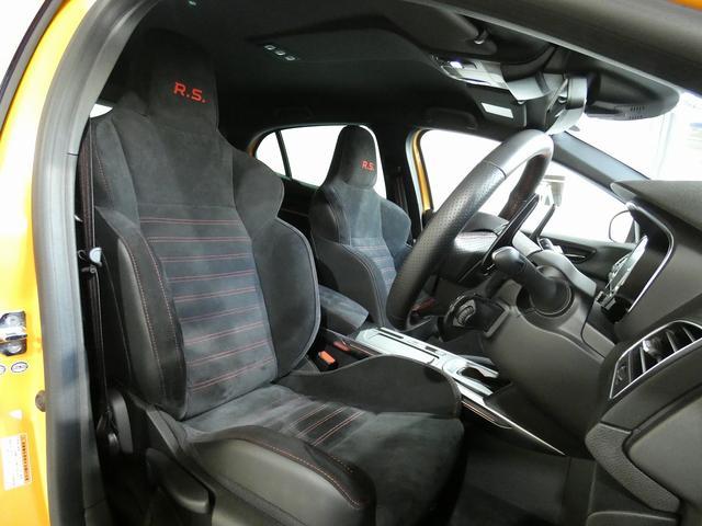 ルノー スポール 正規ディーラー車 国産新品タイヤ4本装着 メーカー保証継承 LEDヘッドライト AppleCarPlay AndroidAuto バックカメラ 障害物センサー 純正19インチAW スマートキー ETC(17枚目)