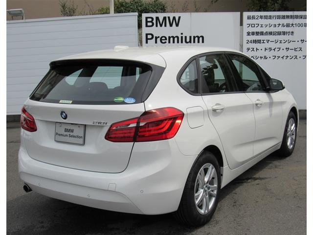 BMW BMW 218iアクティブツアラー デモカー使用車