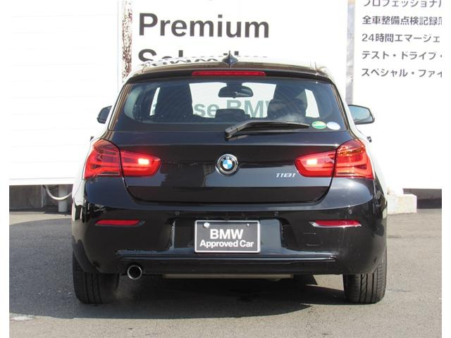 BMW BMW 118i スポーツ全国1年保証付 1オナ バックカメラ