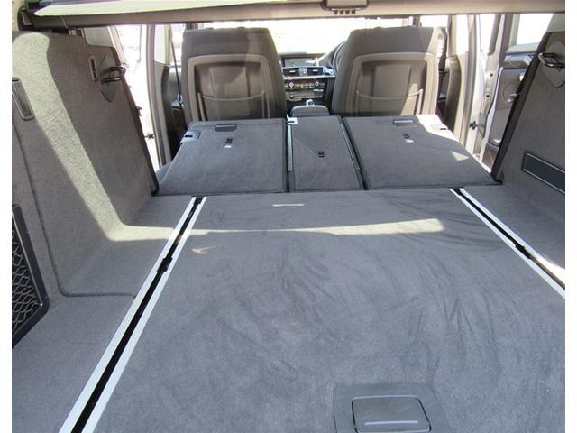 十分な容量のあるトランクスペース、リアシートアレンジで大きな荷物、長い荷物も載せられます。