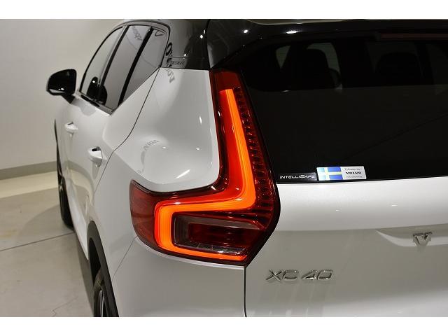 縦型のLEDテールライトはだれが見てもVOLVOと一目でわかるだけではなく、後続車への視認性も良く安全性を高めます。