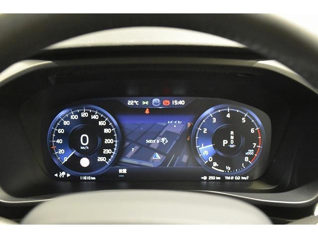 液晶表示のスピードメーター。ナビゲーションの地図表示もメーター内に映し出せますので、運転中の視線移動も少なく安全運転!