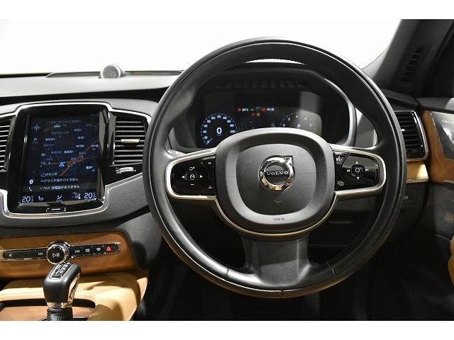穏やかなデザインと、操作性に優れた運転席周り