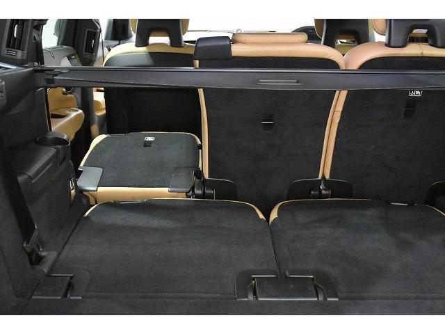 2列目シート3座席も前方へ倒すことができます。フラットになりますので、使用用途が広がります。