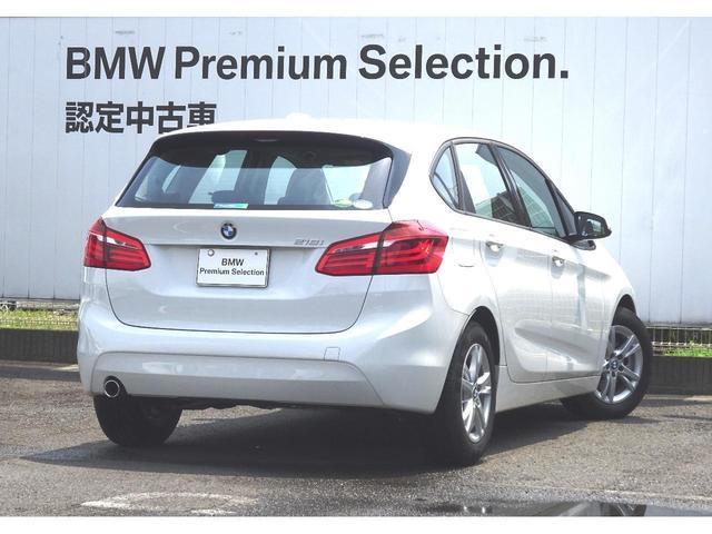 BMW BMW 218iアクティブツアラー ドライビングアシスト