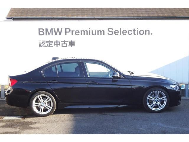 320i Mスポーツ 認定中古車 ブラックレザーシート(6枚目)
