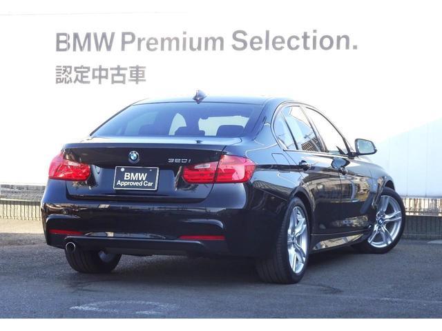 320i Mスポーツ 認定中古車 ブラックレザーシート(10枚目)