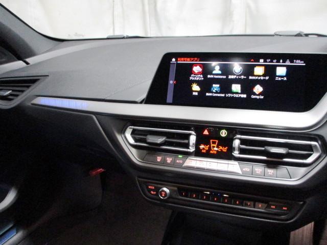 118i Mスポーツ タッチパネルHDDナビゲーション 追従機能付クルーズコントロール スマートキー 衝突軽減ブレーキ レーンアシスト バックカメラ 自動駐車 LEDヘッドライト BMW正規ディーラー認定中古車(8枚目)