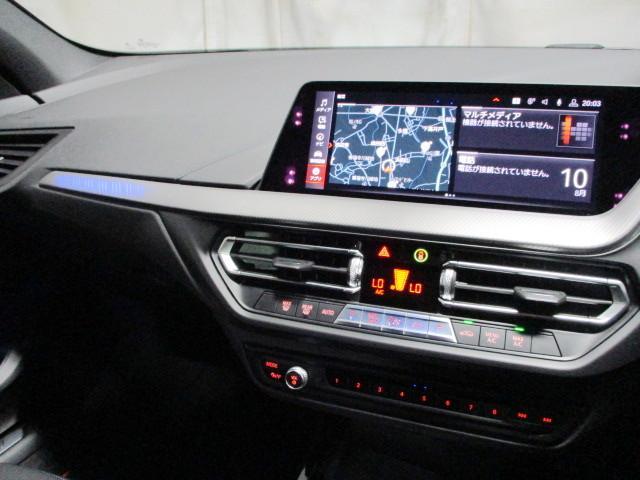 118i Mスポーツ オートホールド 18インチ オートマテールゲート ACC タッチパネルHDDナビゲーション スマートキー 衝突軽減ブレーキ  バックカメラ 自動駐車 LEDヘッドライト BMW正規ディーラー認定中古車(7枚目)