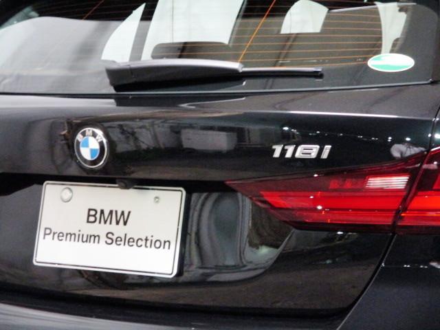 118i Mスポーツ オートホールド 18インチ オートマテールゲート ACC タッチパネルHDDナビゲーション スマートキー 衝突軽減ブレーキ  バックカメラ 自動駐車 LEDヘッドライト BMW正規ディーラー認定中古車(25枚目)