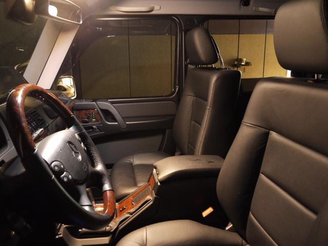 メルセデス・ベンツ M・ベンツ G550ロング クロームP 黒革 SR ナビTV 2年保証