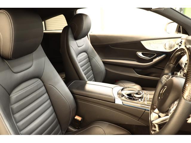 C43AMG 4Mクーペ レザーEXC 黒本革 新車保証付(5枚目)
