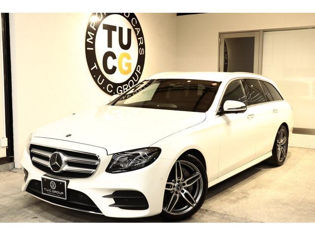 E250W AVGスポーツ本革仕様 黒革ブルメスタ 新車保証(6枚目)