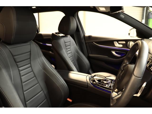 E250W AVGスポーツ本革仕様 黒革ブルメスタ 新車保証(16枚目)