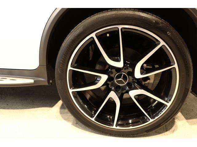 GLC43 4M レザEXC 黒革SR ブルメスタ 新車保証(9枚目)