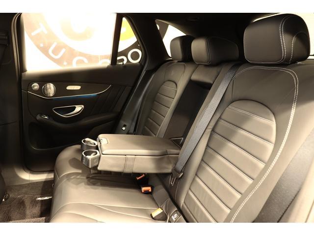 GLC43 4M レザEXC 黒革SR ブルメスタ 新車保証(13枚目)